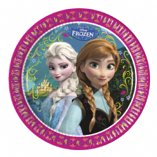 8 Disney Frozen Paper Party Plates